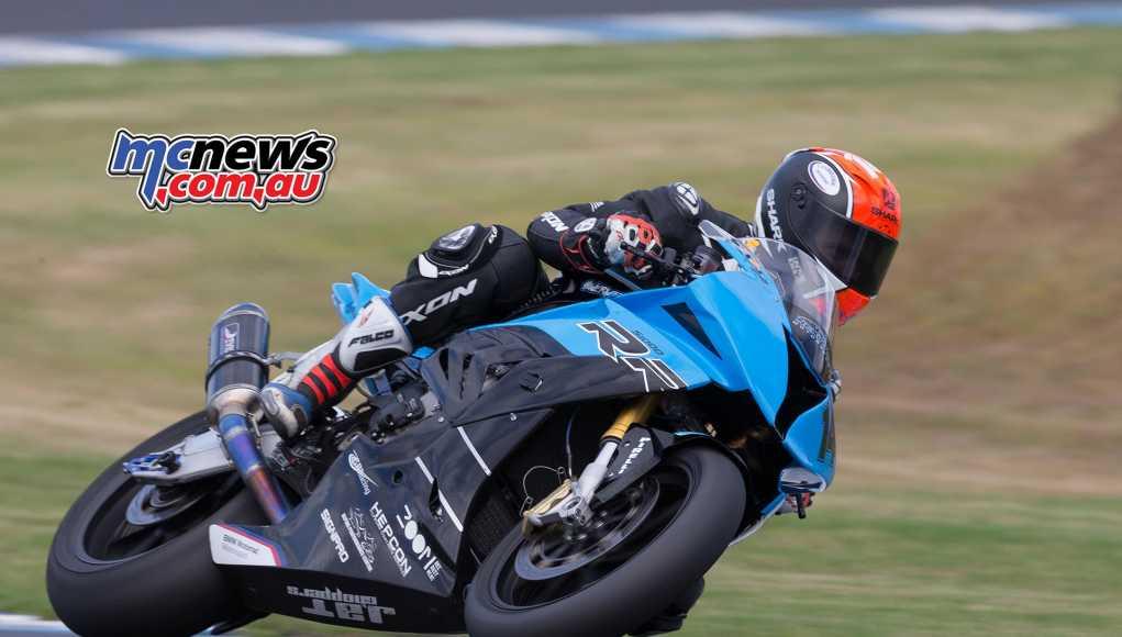 Glenn Allerton tops ASBK pre-season testing - TBG Image