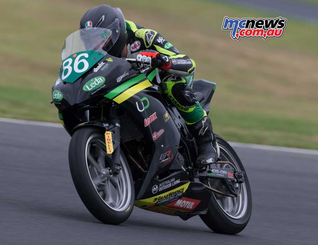 Oli Bayliss posted the third fastest time - Image by TBG