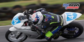 Tom Bramich led the way during Phillip Island Testing