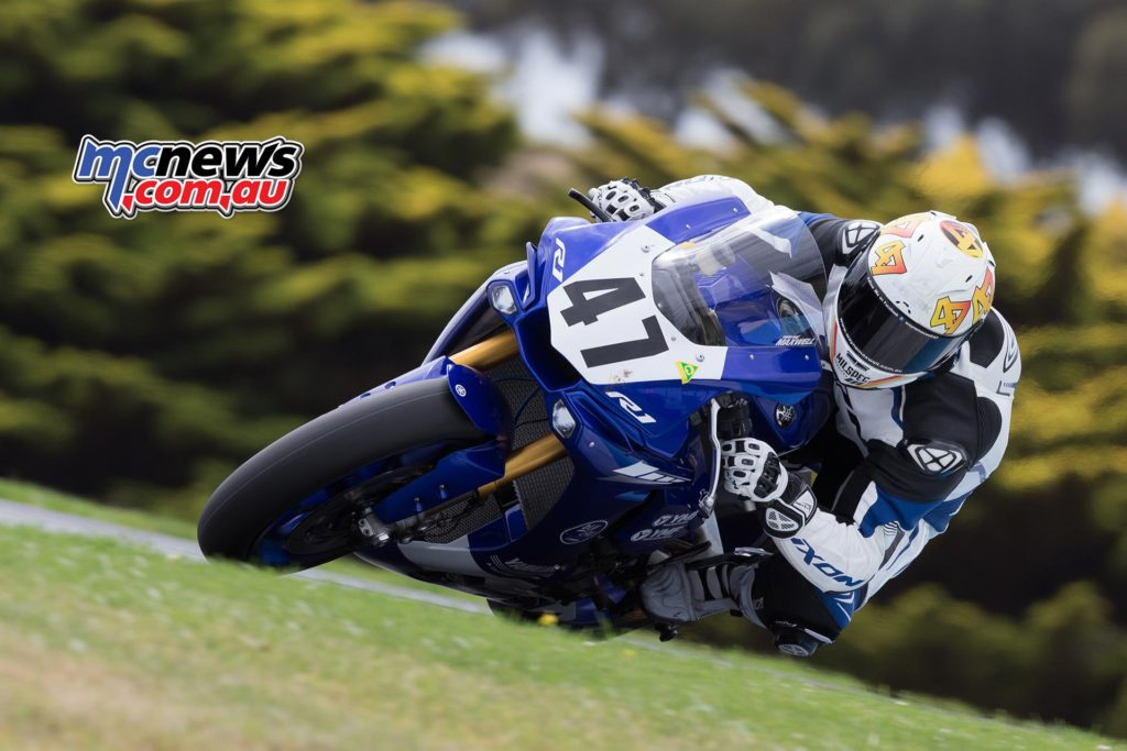 Wayne Maxwell tops FP3 at P.I. ASBK Test - TBG Image