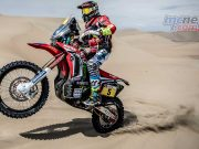 Joan Barreda took lead in Dakar 2018 with Stage Two Victory