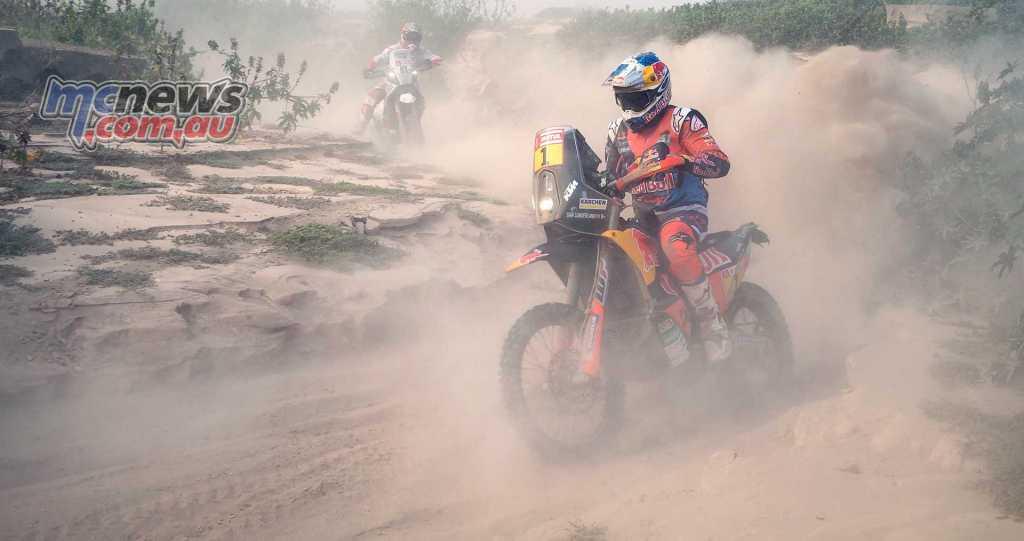 Sam Sunderland out of Dakar 2018 after crash