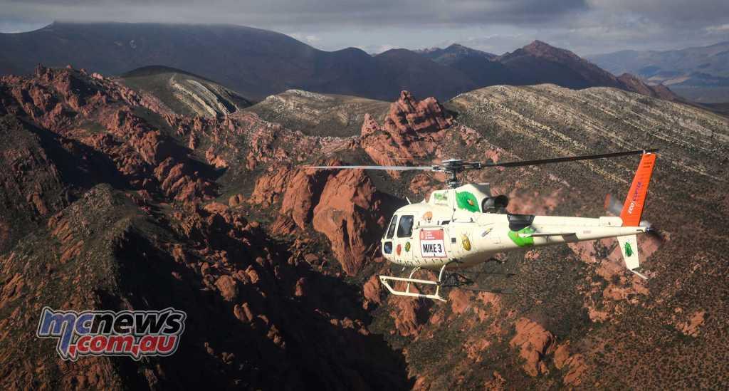 Dakar 2018 headed in to Argentina