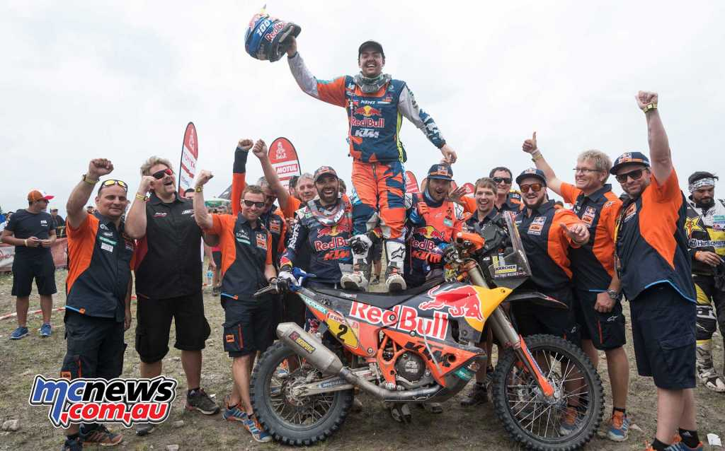 Matthias Walkner has won the 2018 Dakar Rally