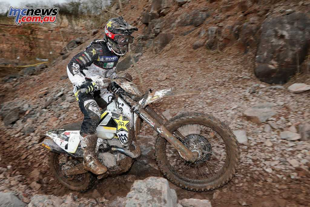 Graham Jarvis took the Tough One Hard Enduro win