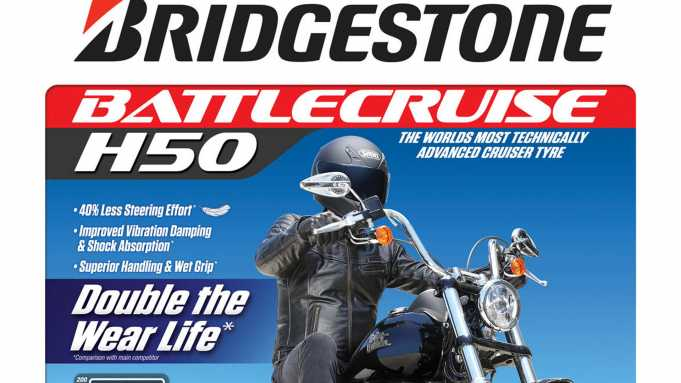 Bridgestone launch the new Battlecruise H50 tyres