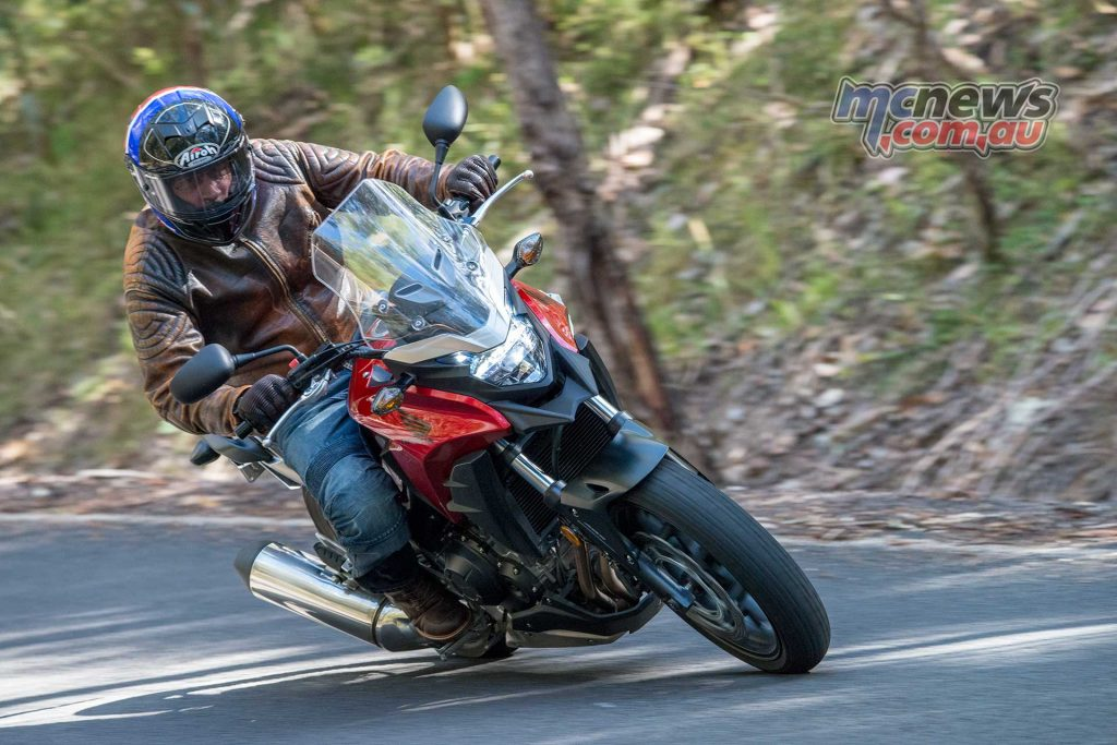 The CB500X's off-road prowess was also tested, with the bike proving compliant and confidence inspiring