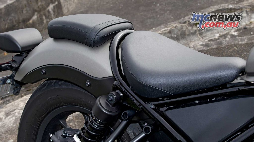A low 690mm seat height joins relaxed ergonomics