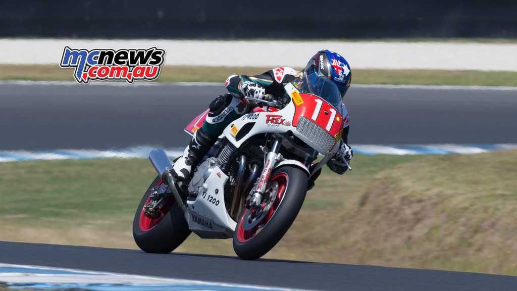Troy Corser is down on speed compared to the competition - Image by TBG