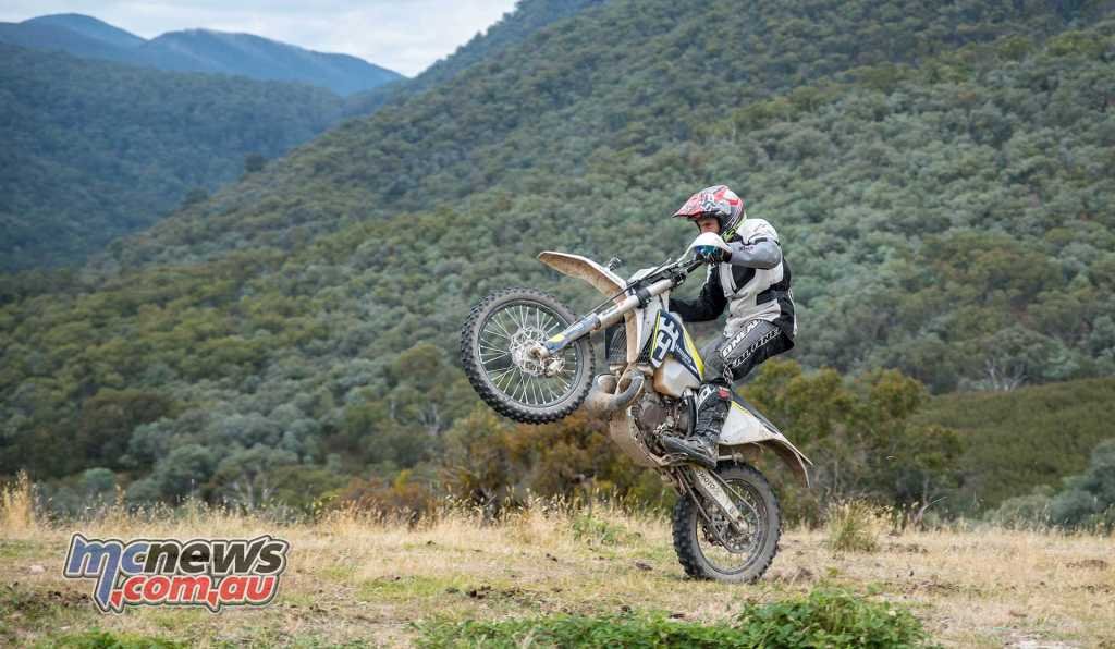 Jeremy McWilliams also got out and about in the Victorian High Country last weekend