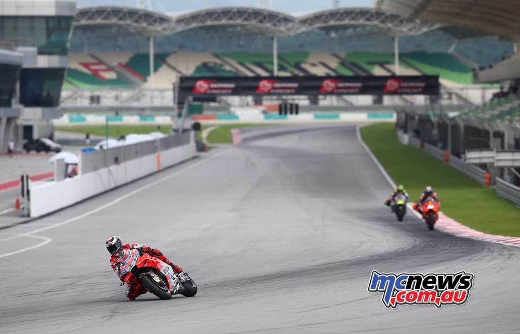 Jorge Lorenzo topped the Sepang Test - Image by AJRN