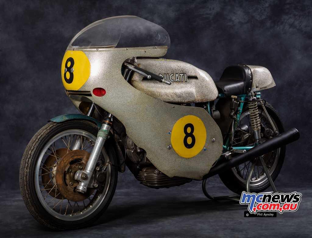 In 1973 Renato Armaroli further developed the machine into a belt-driven DOHC eight-valve