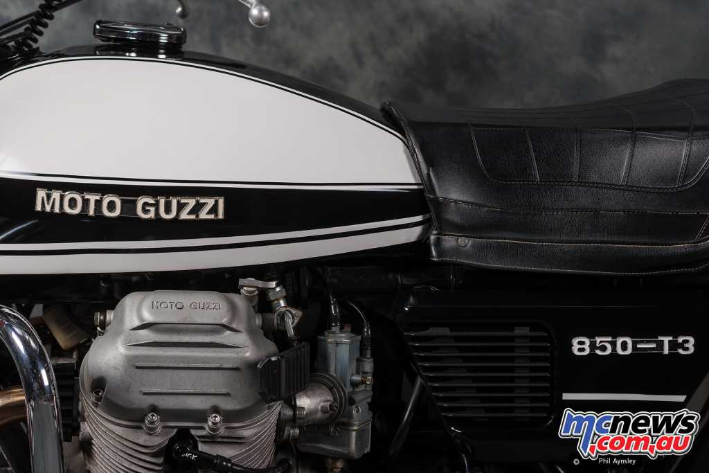 Moto Guzzi's performance was also plentiful compared to that required by the LAPD
