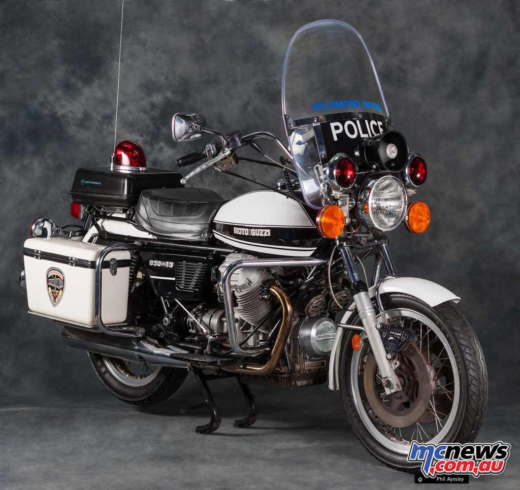 The LAPD Moto Guzzi 850 T3
