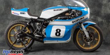 Tepi Lansivouri's Suzuki TR750 XR11