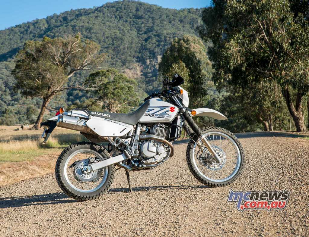 Suzuki's DR650 took back top spot in the adventure-touring category from Honda's Africa Twin