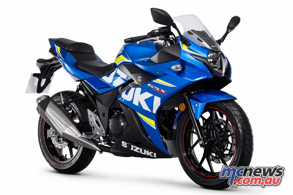 The GSX250R is an ideal beginners option for $5790 RRP on-road
