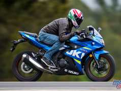 Suzuki's GSX250R offers a great entry level sporty themed option
