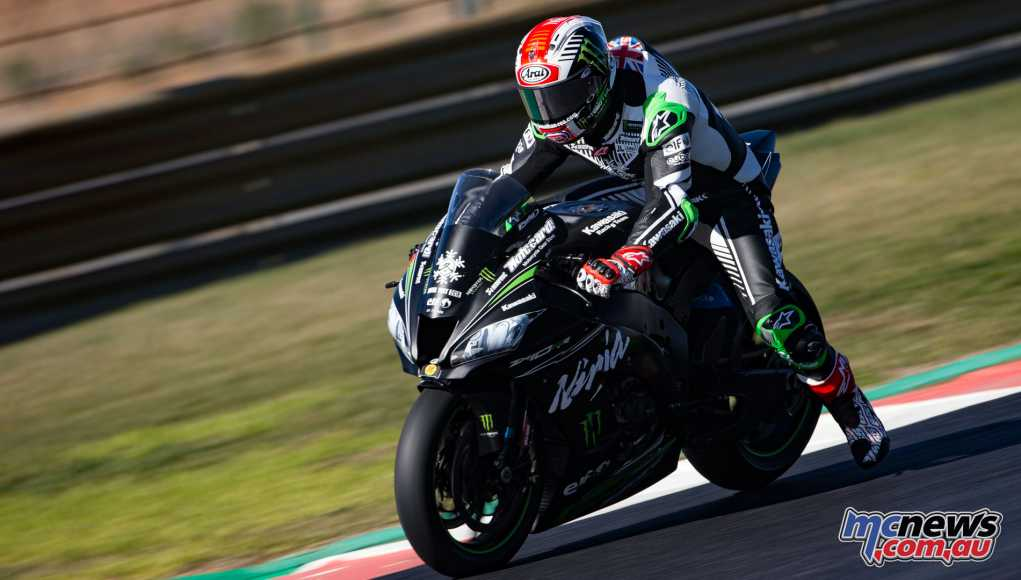 Jonathan Rea topped the Portimao WSBK Test - Image by Geebee Images