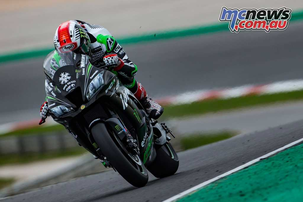 Rea took top honours at the final Portimao test