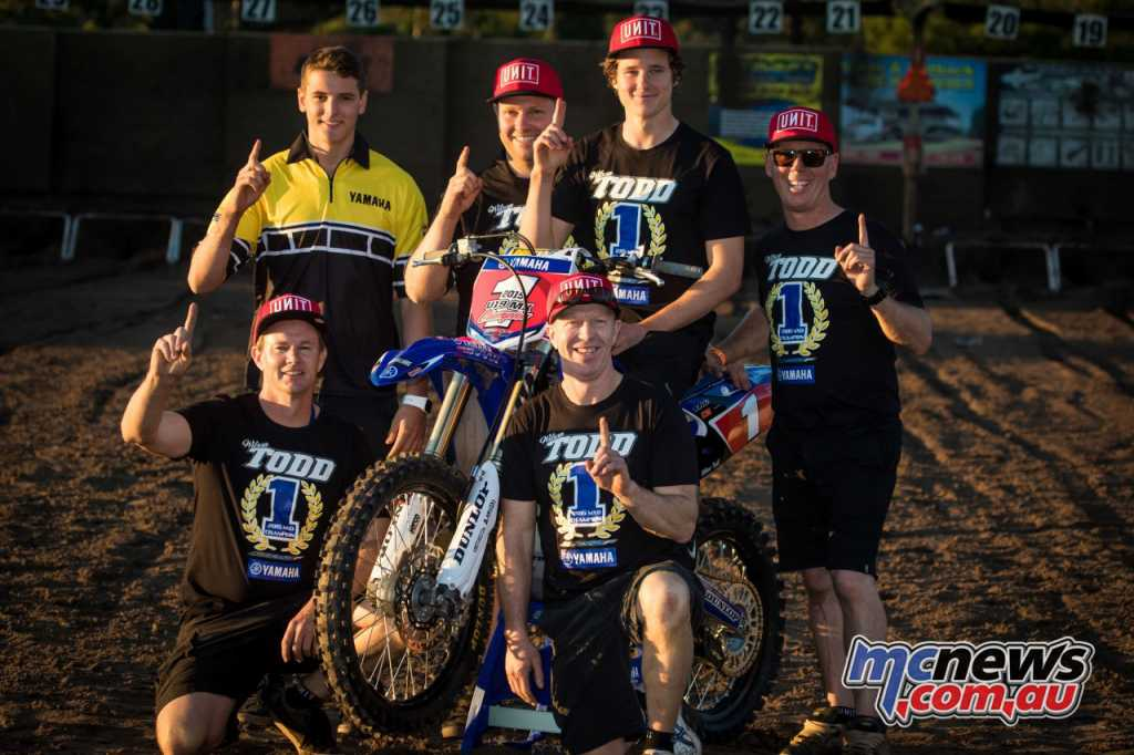 Wilson Todd enters his tenth year with Yamaha