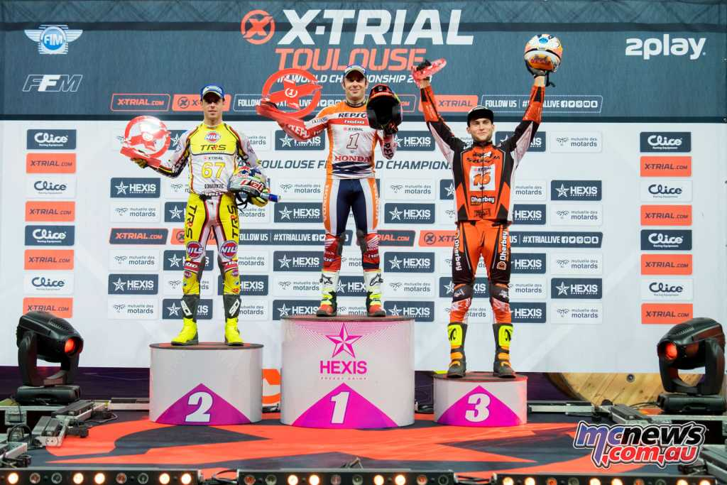 X-Trial Toulouse 2018 Podium