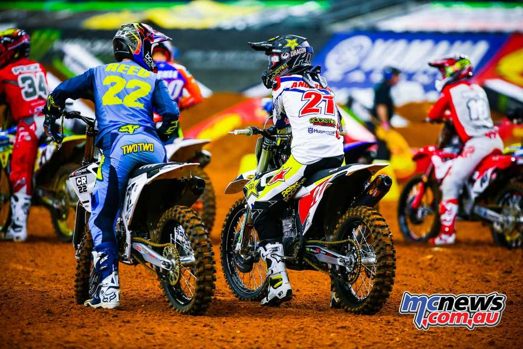 Chad Reed and Jason Anderson