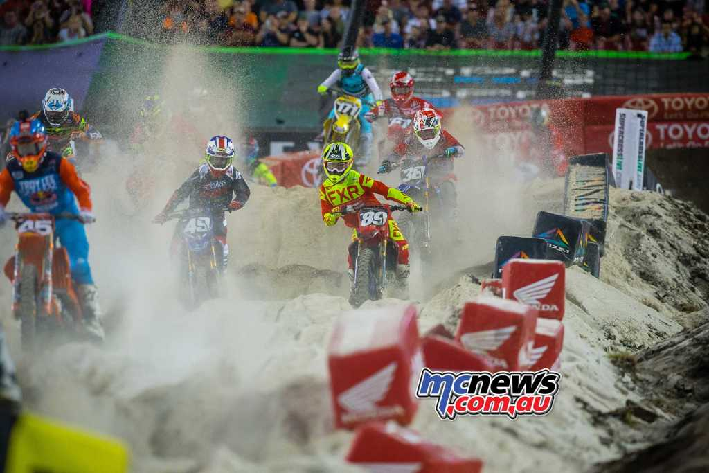 AMA Supercross 250s at Tampa