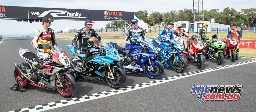 ASBK 2018 sees seven different brands on the grid - Image by TH