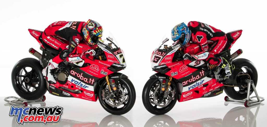 Ducati 2018 WorldSBK Launch - Marco Melandri and Chaz Davies