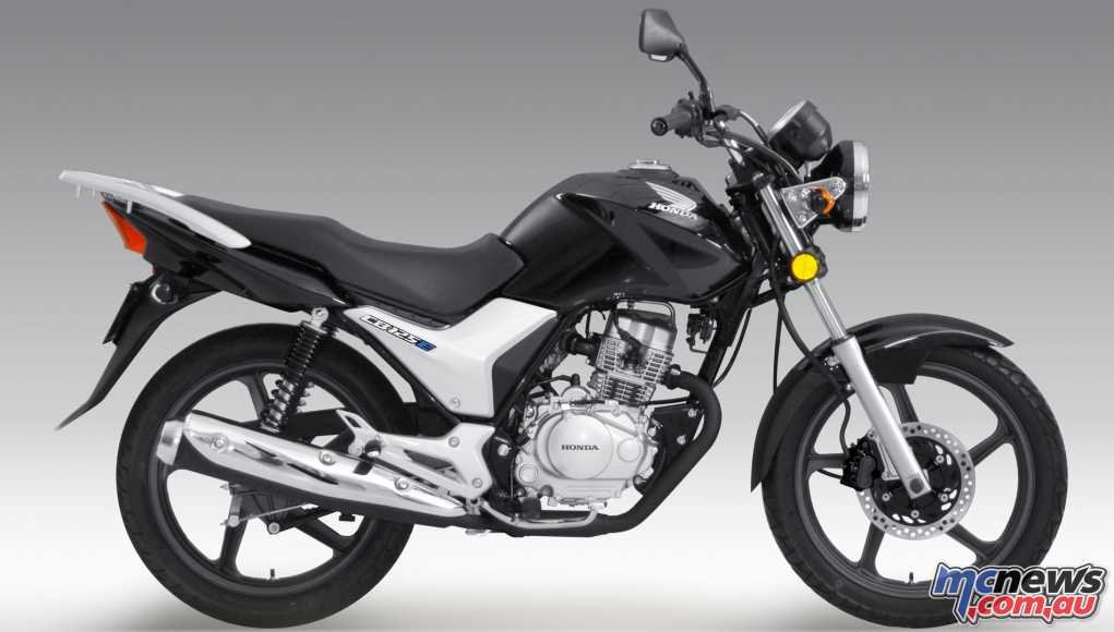 Honda's 2018 CB125e in Black