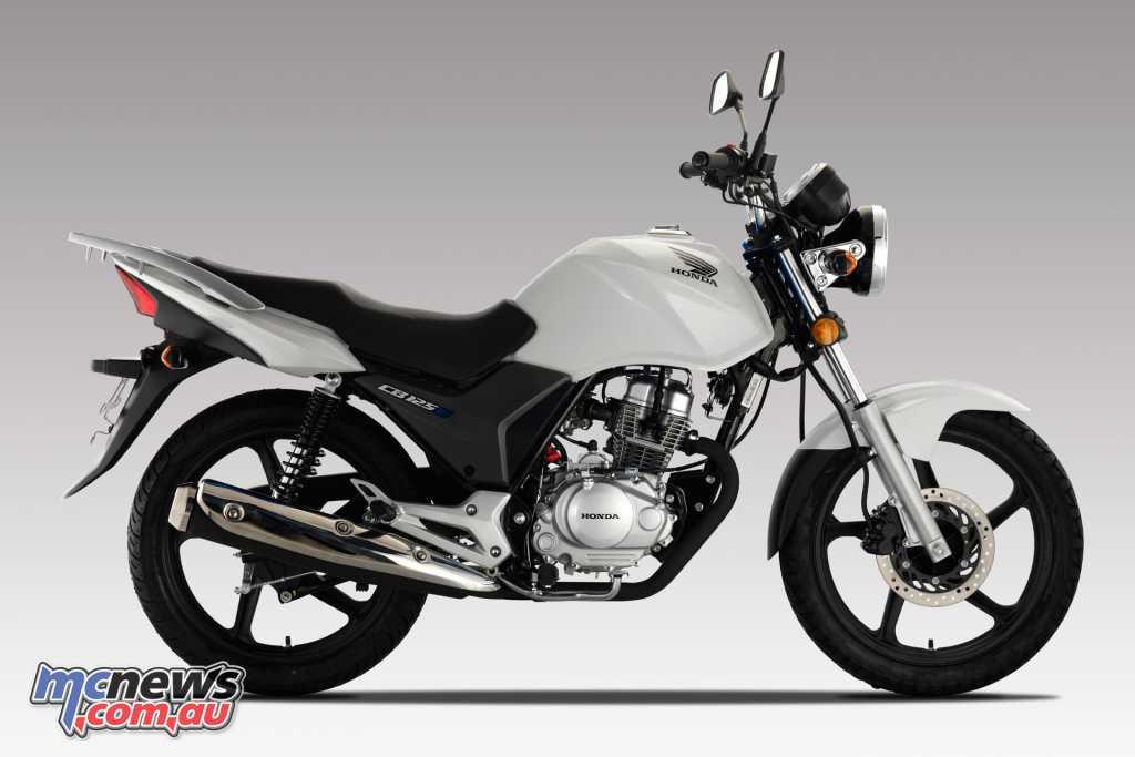 2018 Honda CB125e - Pearl White