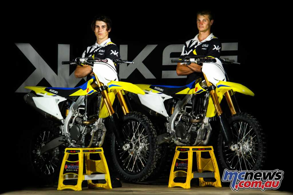 KSF ECSTAR Suzuki Announce MX1 riders Jesse Dobson and Kieron Hall