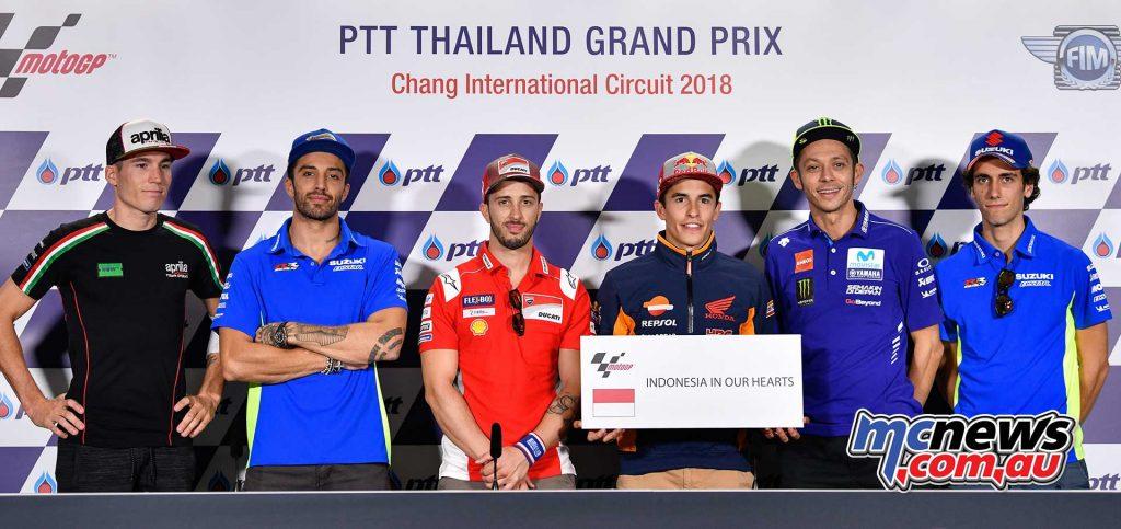 MotoGP Thailand Indonesia Banner