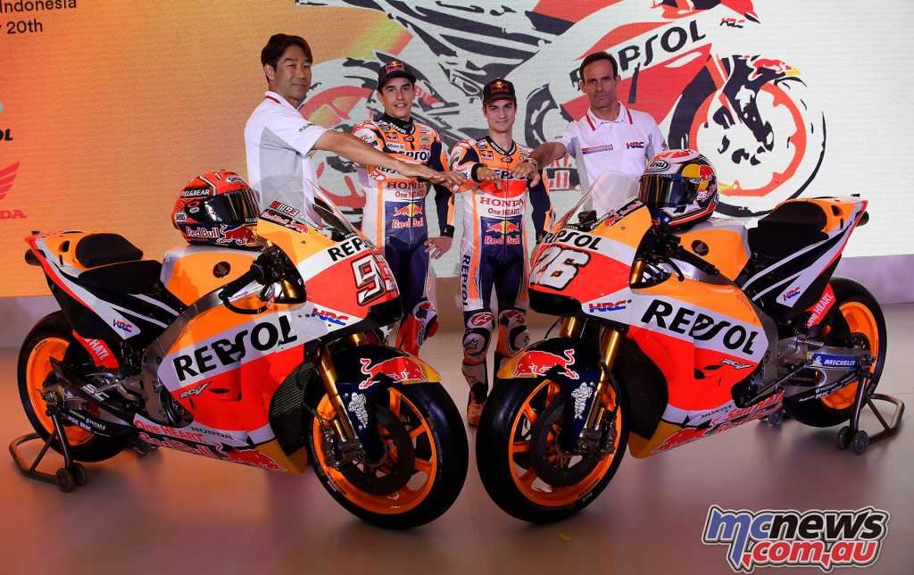 Repsol HRC recently chose Indonesia as the venue for the official launch of their 2018 MotoGP campaign