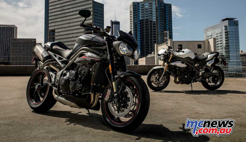 2018 Triumph Speed Triple RS and S