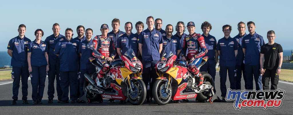 Red Bull Honda WorldSBK 2018