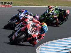 Marco Melandri made it two for two at The Island to open 2018