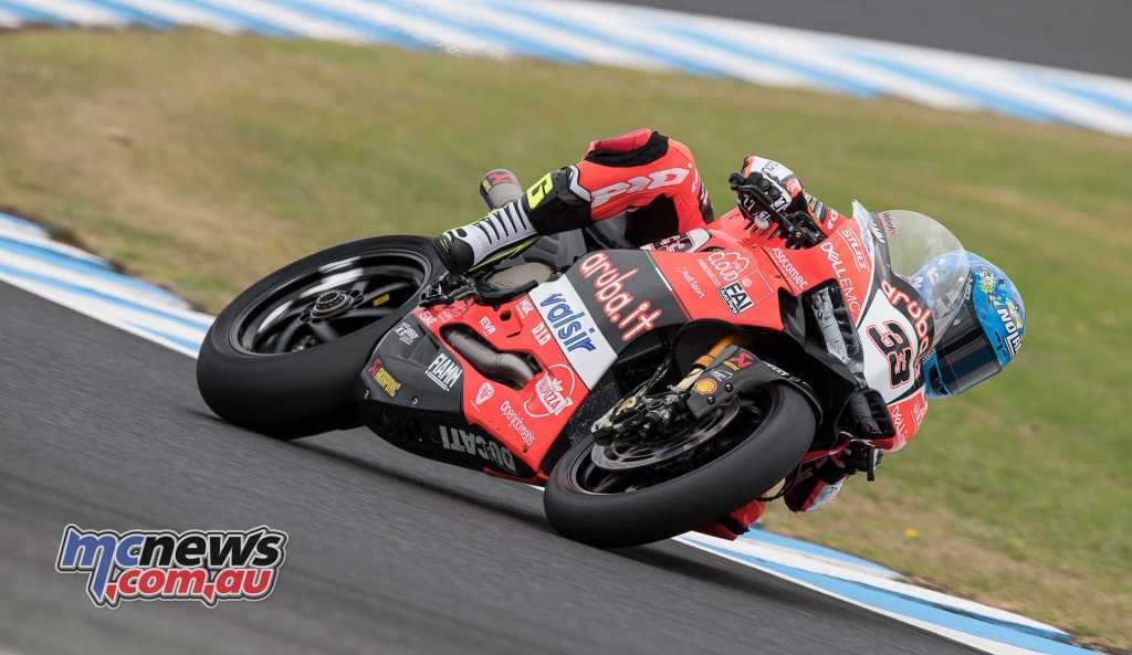 Marco Melandri sets day one pace at P.I. - Image by GeeBee