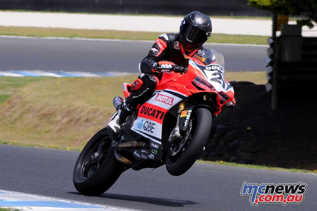 Troy Bayliss - Image by Russell Colvin
