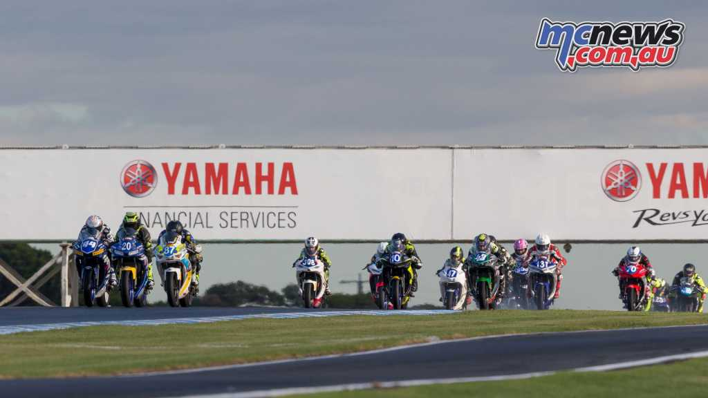 YMF R3 Cup qualifying kicked off on Friday at Phillip Island - Image by TBG Sport