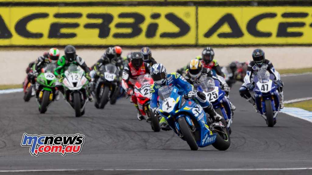 ASBK 2018 - Round One - Phillip Island - Superbike Race Two - TBG Image