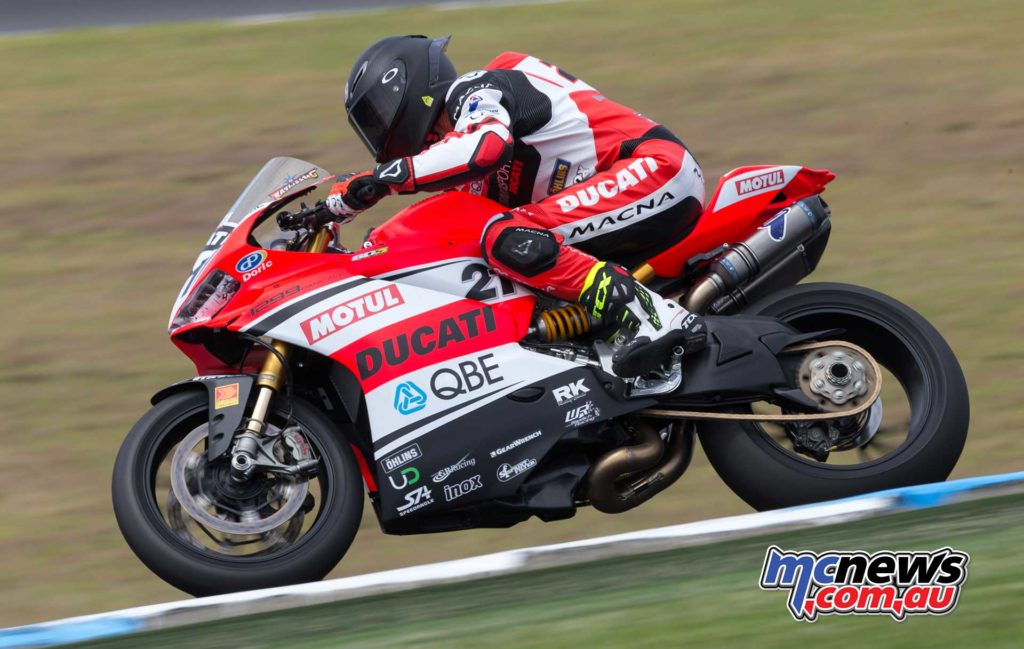 Troy Bayliss - Image by TBG