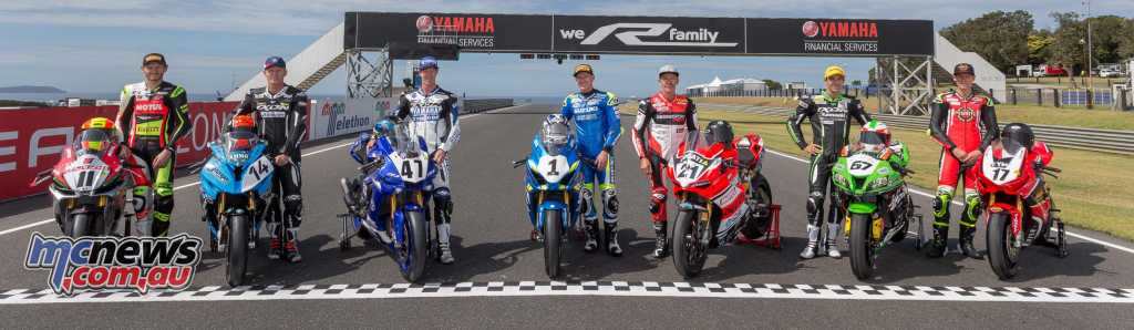 ASBK 2018 sees seven different brands on the grid - Image by TBG