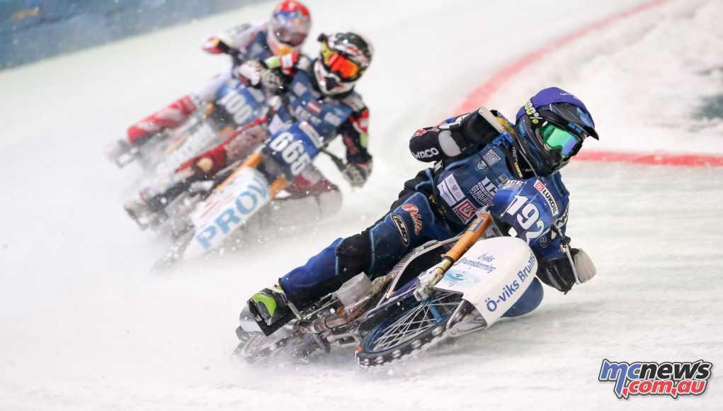 Ice Speedway Gladiators in Astana
