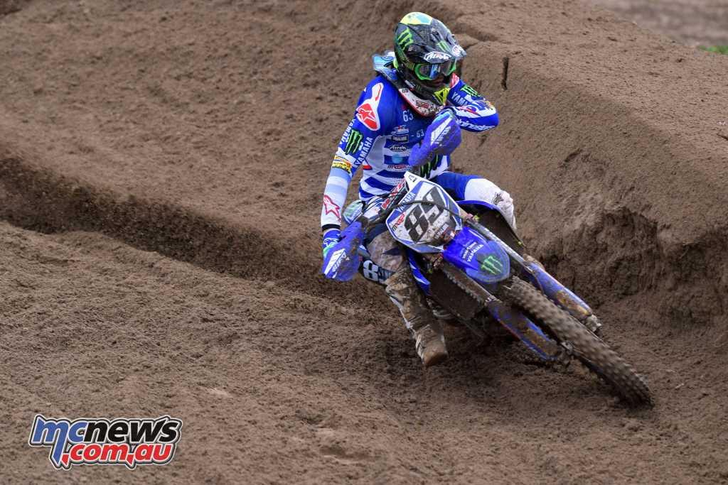 Yamaha's Jeremy Van Horebeek took third