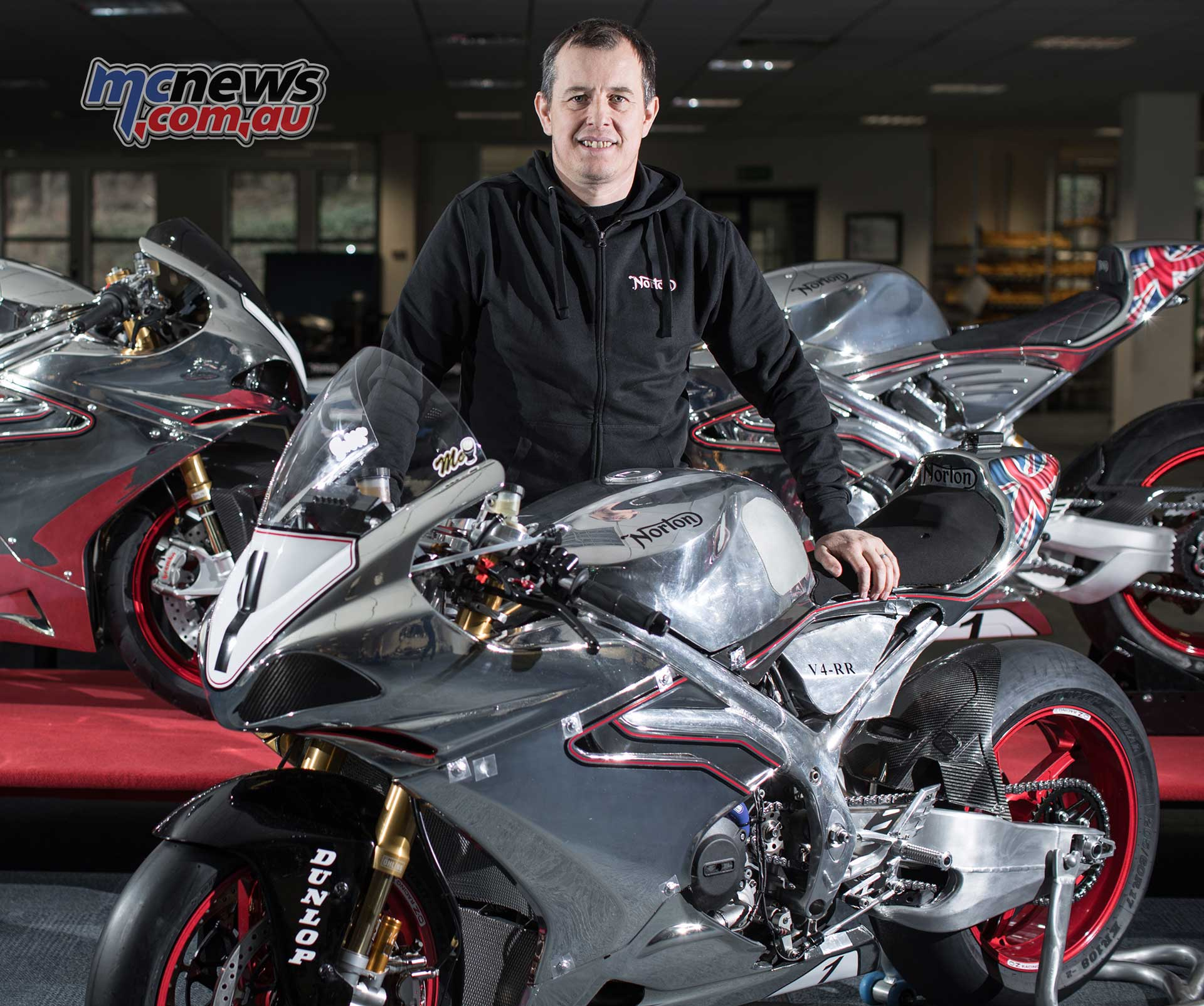 John McGuinness on Norton for 2018 TT