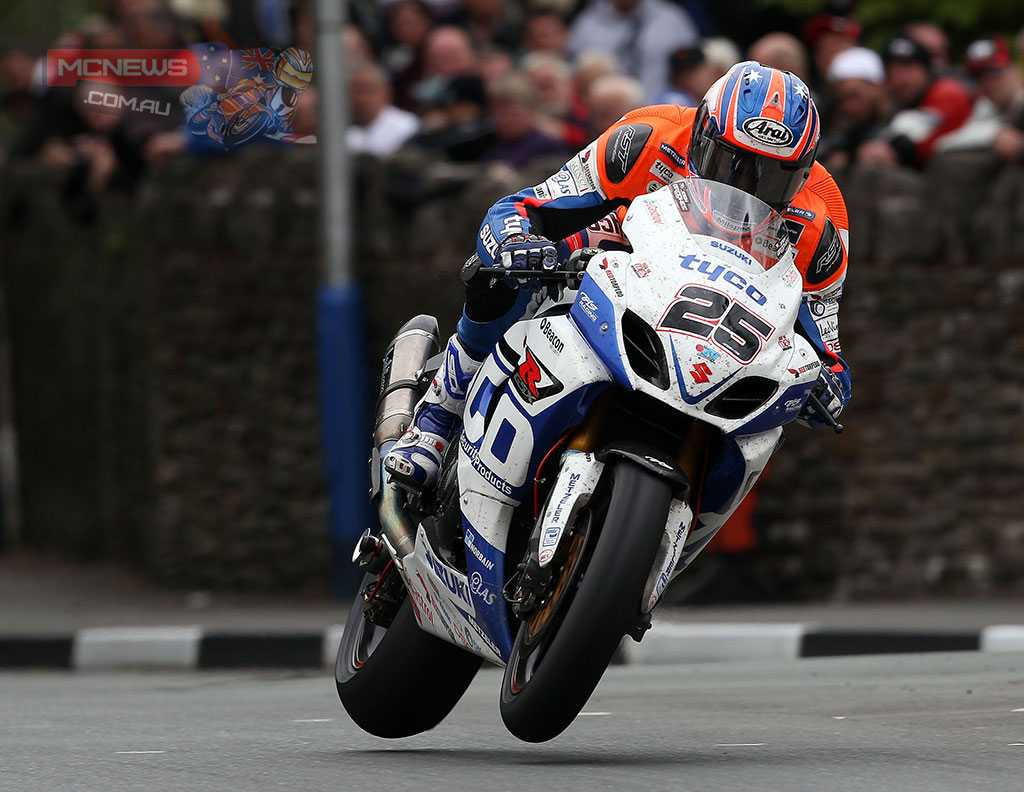 Josh Brookes set the fastest ever lap for a newcomer in 2013 at the TT while riding for Tyco Suzuki