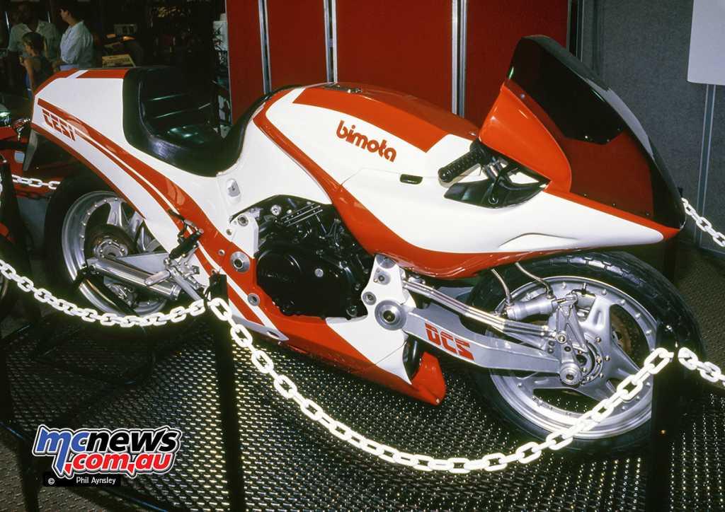 The Bimota Tesi based around a Honda VF400 powerplant