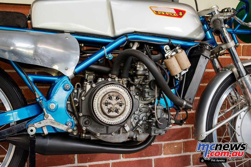 A 1967 Suzuki RS67U 125cc V-4
